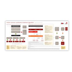 acs algorithm poster heart foundation. Black Bedroom Furniture Sets. Home Design Ideas