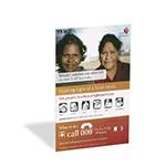 Heart Foundation Warning Signs Poster (Remote - Aboriginal communities)