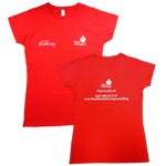 T-Shirt (Red) Ladies | Heart Foundation