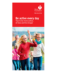 Building physical activity into your day.Place your bulk order now or click Be active for a FREE copy.