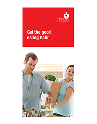 Eating well for a healthy heart.Place your bulk order now or click Good eating habit for a FREE copy.