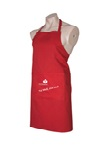 Heart Foundation cooks bib apron - Eat well, Live Well.