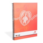 Heart Foundation spiral bound notebook