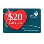 $20 Gift card | Support Heart Foundation