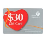 $30 Gift Card | Support Heart Foundation