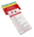Magnetic shopping list | Heart Foundation