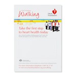Put this poster up in your workplace and encourage staff to start a company walking group or join a walking group in the vicinty of work or in their residential area. Obtain your FREE poster by clicking on Add to Cart.