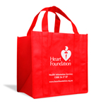 Red carry bag | Support Heart Foundation