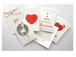 Heart Foundation Christmas cards -12 cards (6 designs)