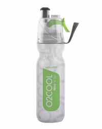 Keep yourself cool and hydrated with the 02 Cool Mist n sip insulated Arctic Squeeze bottle. 530ml/18oz. BPA-free LDPE Bottle.